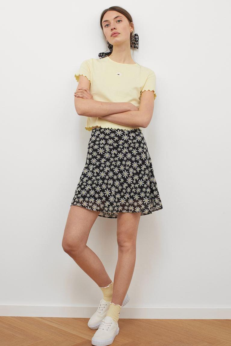 <p>The <span>To All the Boys I've Loved Before x H&amp;M A-line Skirt</span> ($18) will add that classic touch of spring to your wardrobe. You can't go wrong with florals.</p>