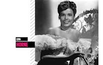 <p>Throughout her long career, Horne kept us entranced with her perfectly styled coif, bold lips, and megawatt smile. (Photo: Getty Images) </p>