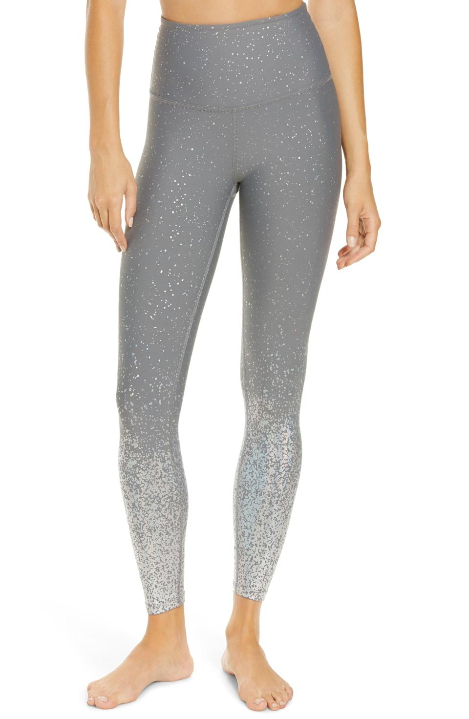 <p>These sparkly <span>Beyond Yoga Ombré High Waist Leggings</span> ($110) are buttery soft and a dream come true.</p>