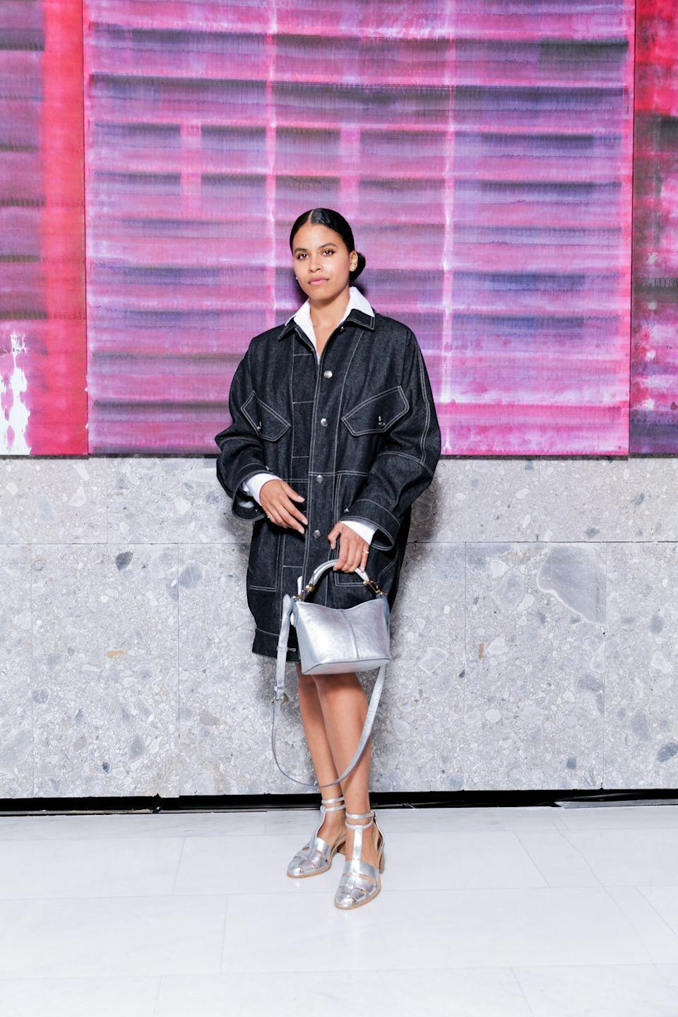"""<p><strong>Who:</strong> Zazie Beetz</p><p><strong>What: </strong>WIF Max Mara Face of the Future Award </p><p><strong>Where: </strong>At Milan Fashion Week</p><p><strong>Why: </strong>Congrats are in order for Zazie Beetz! The New York-based actress and <a href=""""https://www.elle.com/culture/a36098874/zazie-beetz-atlanta-the-harder-they-fall/"""" rel=""""nofollow noopener"""" target=""""_blank"""" data-ylk=""""slk:ELLE cover girl"""" class=""""link rapid-noclick-resp""""><em>ELLE</em> cover girl</a> is the recipient of the 2021 WIF Max Mara Face of the Future Award®. To properly celebrate, she was invited by the Maramotti family to Max Mara's spring/summer 2022 show in Milan. The award is given out annually to an actress who """"is experiencing a turning point in her career,"""" whether it be through acting, community-based initiatives, overall personification of star quality, grace, and style, or all of the above. Past recipients of the award include Katie Holmes, Kate Mara, and Emily Blunt. Beetz has been on the rise for the last couple of years, starring in the critically acclaimed TV show <em>Atlanta</em>, and will next appear in Netflix's all-Black western <em>The Harder They Fall</em> alongside Regina King and Idris Elba.<br></p>"""