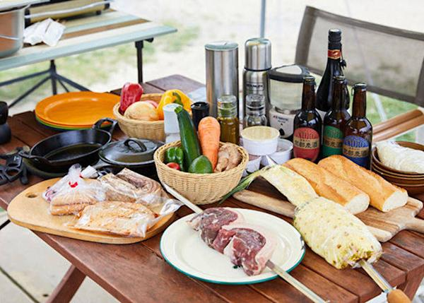 ▲ GRAX SPECIAL BBQ PLAN dinner ingredients *portions are for 4 people (for GLAMPING TENT HOBBIES, the fee per person, excluding tax, ranges from 9,700 yen to 20,200 yen for two meals per tent. Drinks are separate)