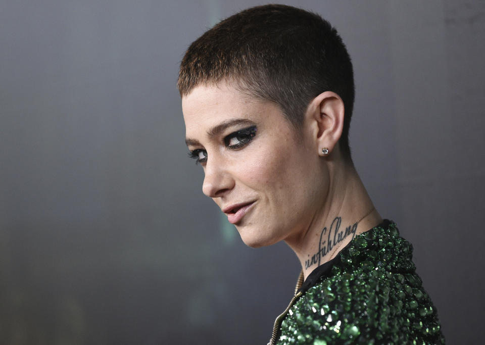 Actor Asia Kate Dillon in May 2019 in New York City. (Photo: Evan Agostini/Invision/AP)