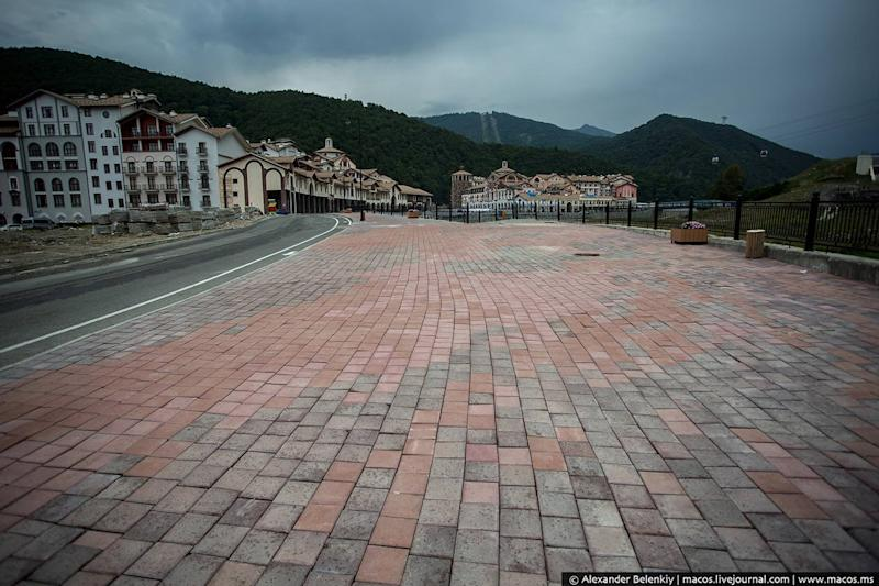 sochi mountain cluster ghost city 2014 olympics 16