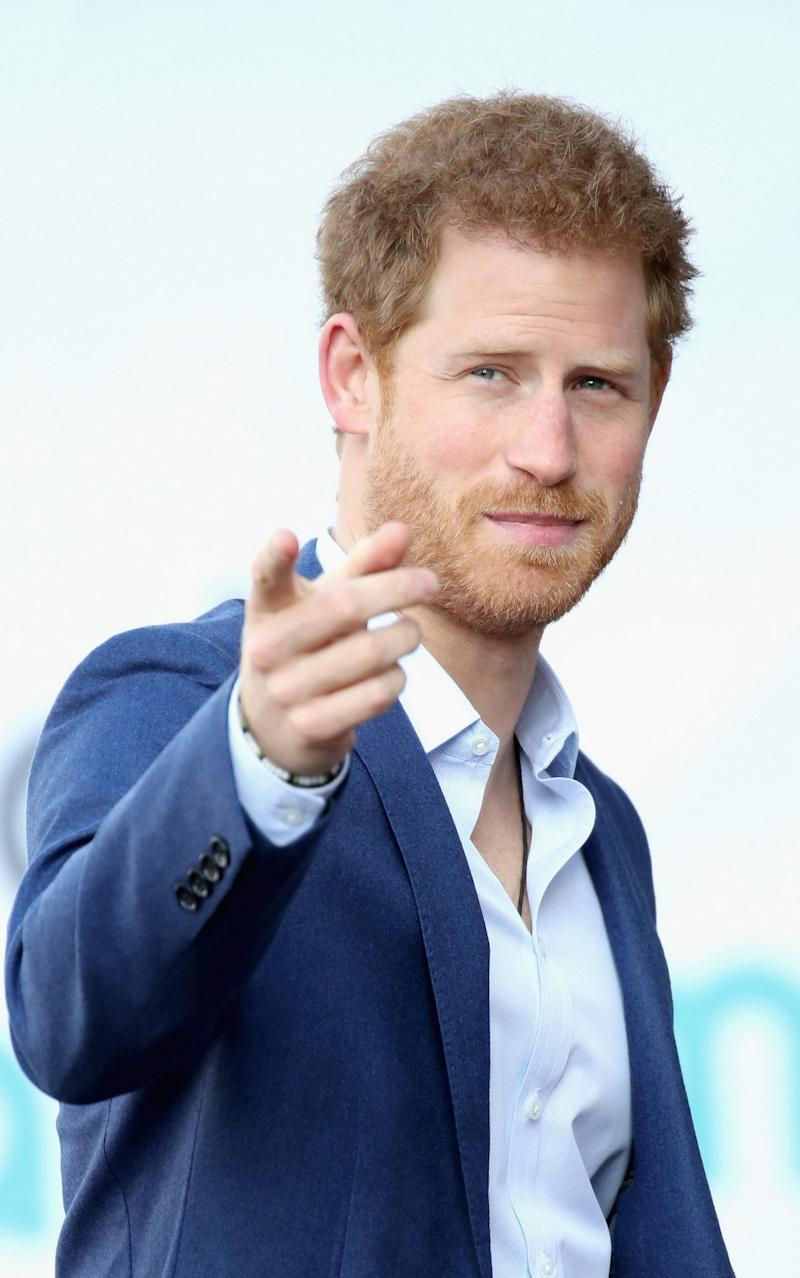 Prince Harry attends the official opening of The Global Academy - Credit: Chris Jackson