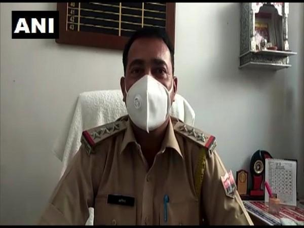 Mohammad Aneesh, Station House Officer (SHO) of Sadar Baran police station. Photo/ANI