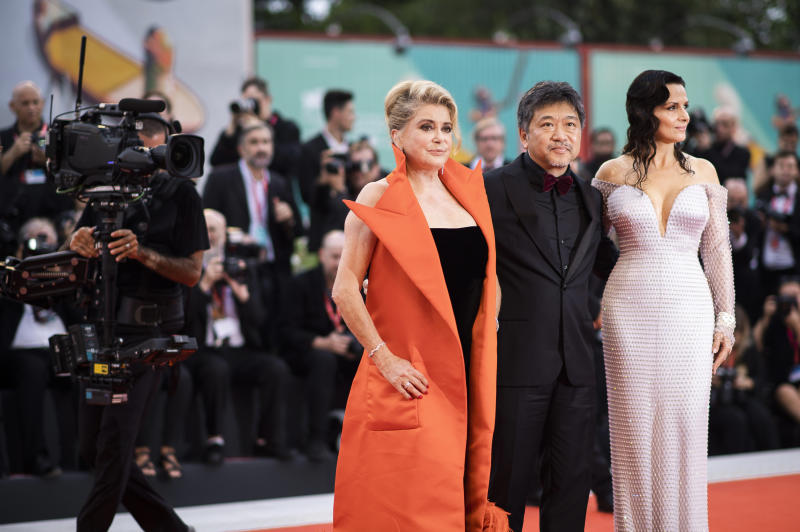 Italy Venice Film Festival 2019 The Truth Red Carpet