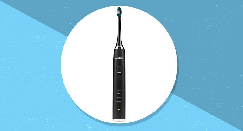 Now's your chance to scoop up the best toothbrush on the market (Photo: Aquasonic)