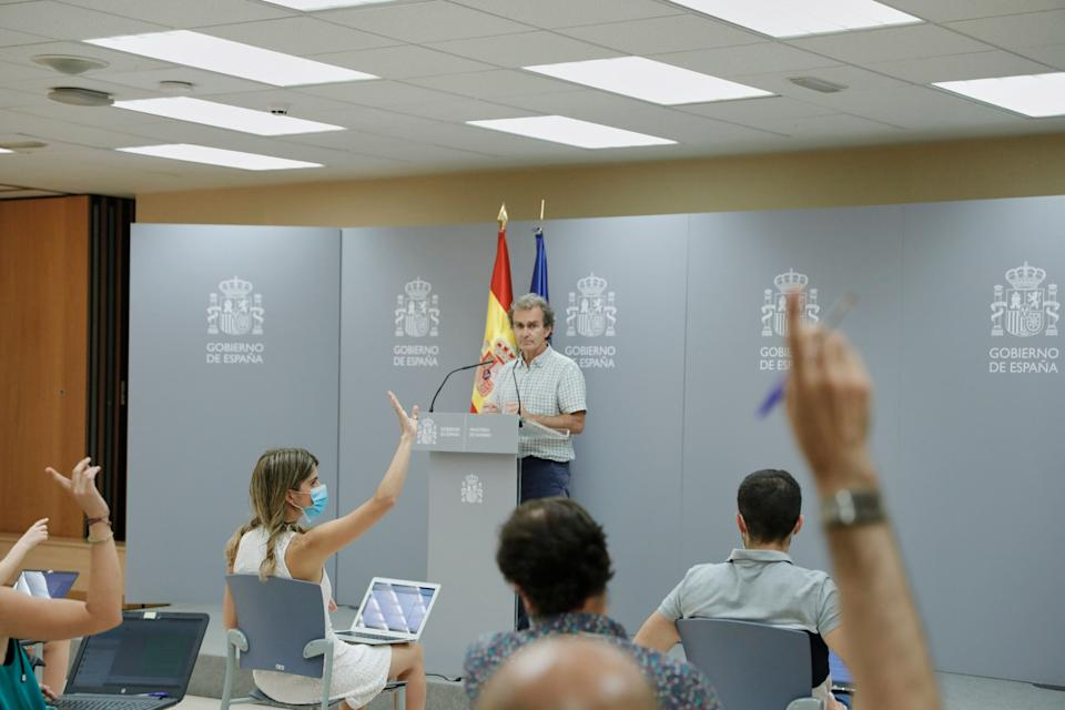 Fernando Simón, en una rueda de prensa. (Photo: Getty Images)