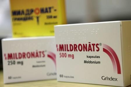 Mildronate (Meldonium) medication is pictured in the pharmacy in Saulkrasti, Latvia, in this March 9, 2016 file photo. REUTERS/Ints Kalnins