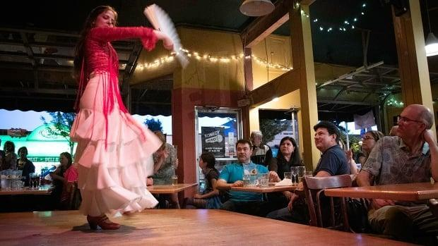 Martha Villa Martin is a regular performer at Vancouver's Kino Cafe, which is celebrating 25 years of flamenco.