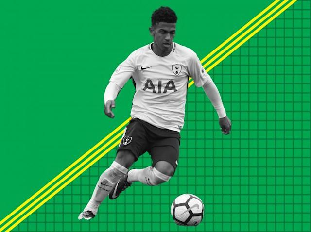 Marcus Edwards returns to Tottenham from Norwich loan with Lionel Messi comparisons long since forgotten
