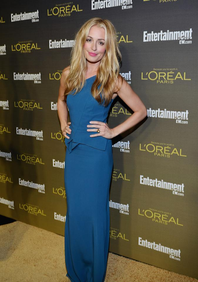 WEST HOLLYWOOD, CA - SEPTEMBER 21:  Cat Deeley attends The 2012 Entertainment Weekly Pre-Emmy Party Presented By L'Oreal Paris at Fig & Olive Melrose Place on September 21, 2012 in West Hollywood, California.  (Photo by Alberto E. Rodriguez/Getty Images for Entertainment Weekly)