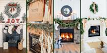 "<p>The mantel is where you hang your stockings with care, but there's so much more that can be done to this space—whether there's a TV on top, a fireplace underneath, or none of the above. In fact, we'd venture to say neglecting your mantel is a real missed opportunity to add <a href=""https://www.oprahmag.com/life/g23939784/christmas-decorations-ideas/"" rel=""nofollow noopener"" target=""_blank"" data-ylk=""slk:festive Christmas decorations"" class=""link rapid-noclick-resp"">festive Christmas decorations</a> to your home.</p><p>You don't have to be a professional decorator to get it right. There are tons of Christmas mantel decor ideas that are simple enough for novices, but make a serious statement above your fireplace.</p><p>If you love the rustic farmhouse or country aesthetic, lean on traditional colors, vintage signs, and natural elements like birch. If your space is more modern, and you have a TV above your mantel, hone in on contemporary ideas—like using jewel tones instead of the more customary reds and greens. And, if you simply like to indulge your inner child during this time of year (who doesn't!), why not go for something truly whimsical—like placing rainbow-colored felt garland or even a <a href=""https://www.oprahmag.com/life/g23939784/christmas-decorations-ideas/"" rel=""nofollow noopener"" target=""_blank"" data-ylk=""slk:fun holiday DIY, like a marquee sign"" class=""link rapid-noclick-resp"">fun holiday DIY, like a marquee sign</a>, on your mantel?</p><p>The moral of the story: If you can dream it, you can do it—and these inspirational images are proof. </p>"