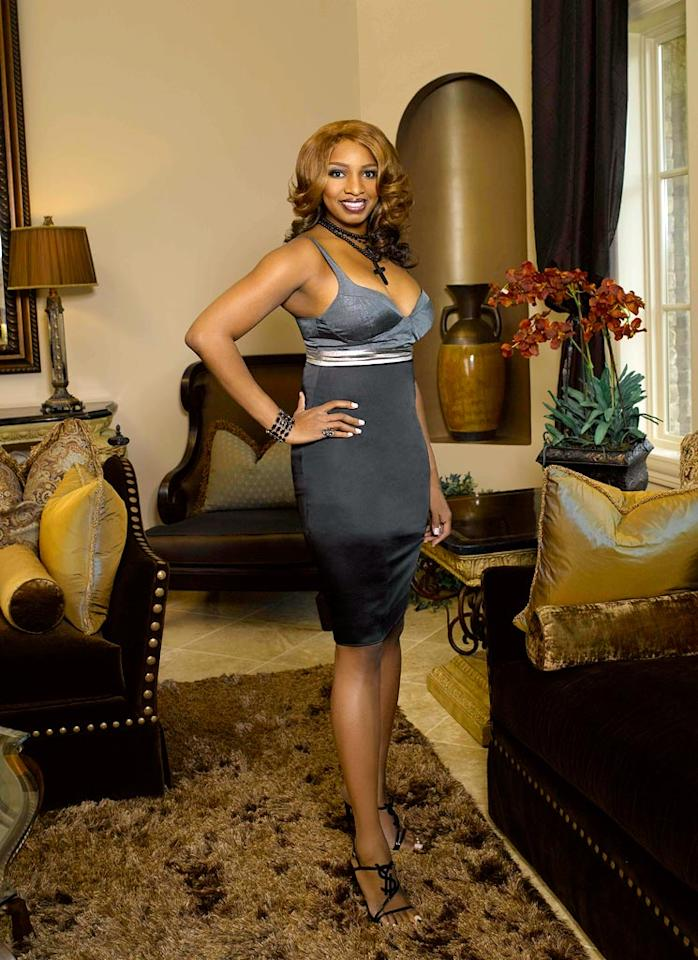 "NeNe Leakes of <a href=""/real-housewives-of-atlanta/show/43337"">The Real Housewives of Atlanta</a>."