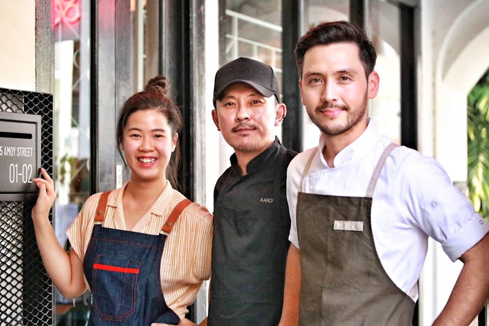 The chefs featured for this event. (PHOTO: Zat Astha/Yahoo Lifestyle Singapore