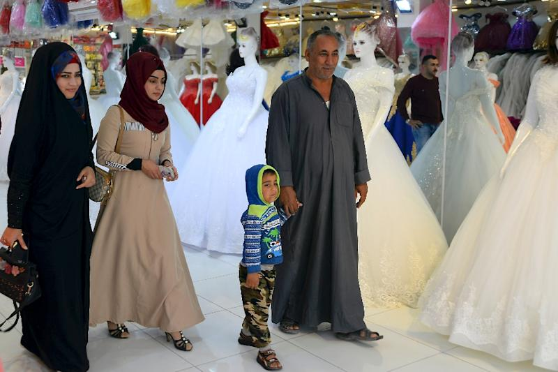 The southern provinces of Misan and Basra, where tribal influence is widespread, have the highest rates of child marriage in Iraq, the United Nations' children's agency UNICEF said in 2018 (AFP Photo/Haidar HAMDANI)