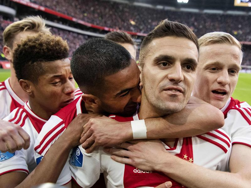 Dusan Tadic has excelled for Ajax this season: AFP/Getty
