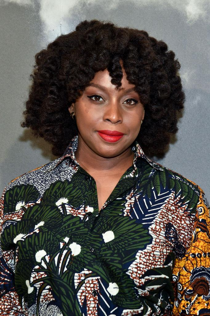 Author Chimamanda Adichie attends Paris Fashion Week earlier this month [Photo: Getty]