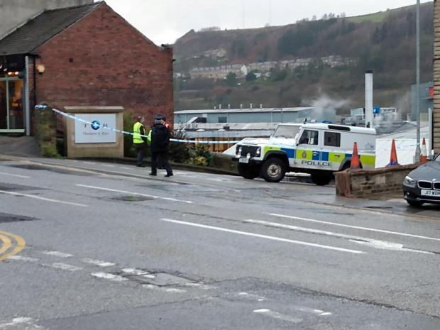 The victim has been named locally as Robert Wilson, who worked at the factory (Picture: SWNS)