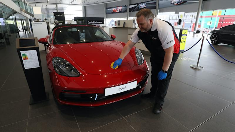 Car showroom targeted by Covid-19 fraudster with eyes on £41,000 Porsche