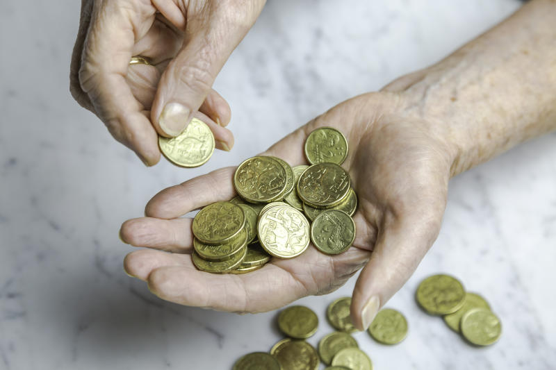 Older Australians are making up a growing number of people at need of financial support. Image: Getty