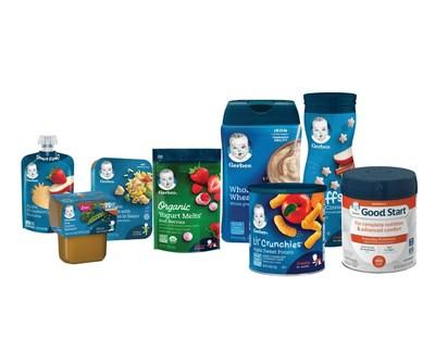 Accepted baby food packaging through Gerber's national recycling program in partnership with TerraCycle