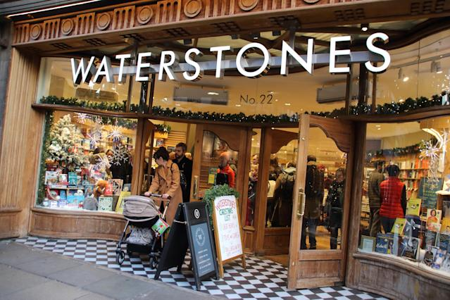 The head of Waterstones has suggested browsed books could be 'quarantined' to prevent the spread of coronavirus when bookstores are allowed to reopen. (Keith Mayhew/SOPA Images/LightRocket via Getty Images)