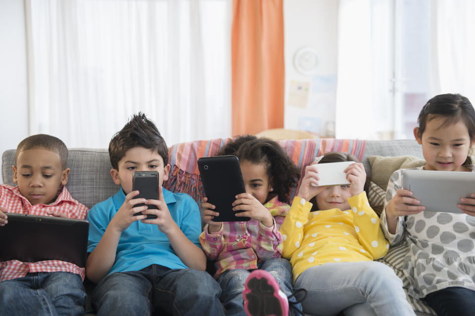 Consider limiting your child's screen time with parental controls. (Photo: Getty)