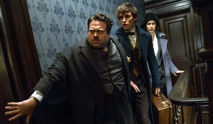 Newt Scamander and the gang in Fantastic Beasts - Credit: Warner Bros.