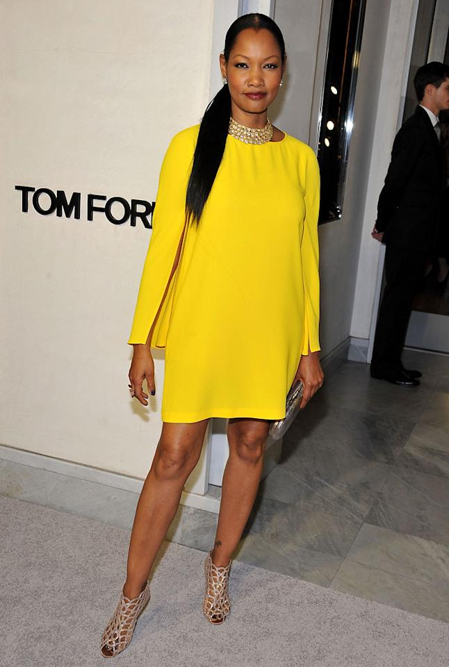 Garcelle Beauvais attends Tom Ford's cocktail event in support of Project Angel Food at TOM FORD on February 21, 2013 in Beverly Hills, California.