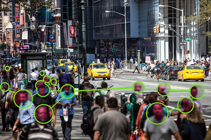 Facial Recognition technology used to prevent Covid-19 spread
