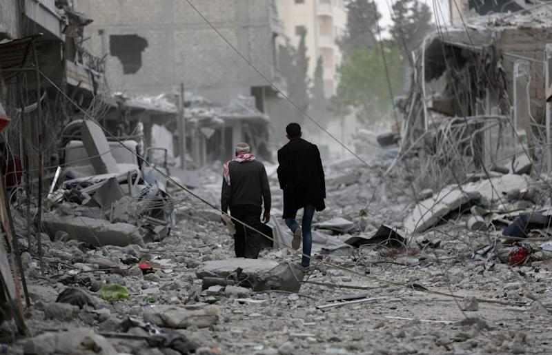 Syria airstrikes: UN Security Council rejects Russian attempt to condemn USA aggression