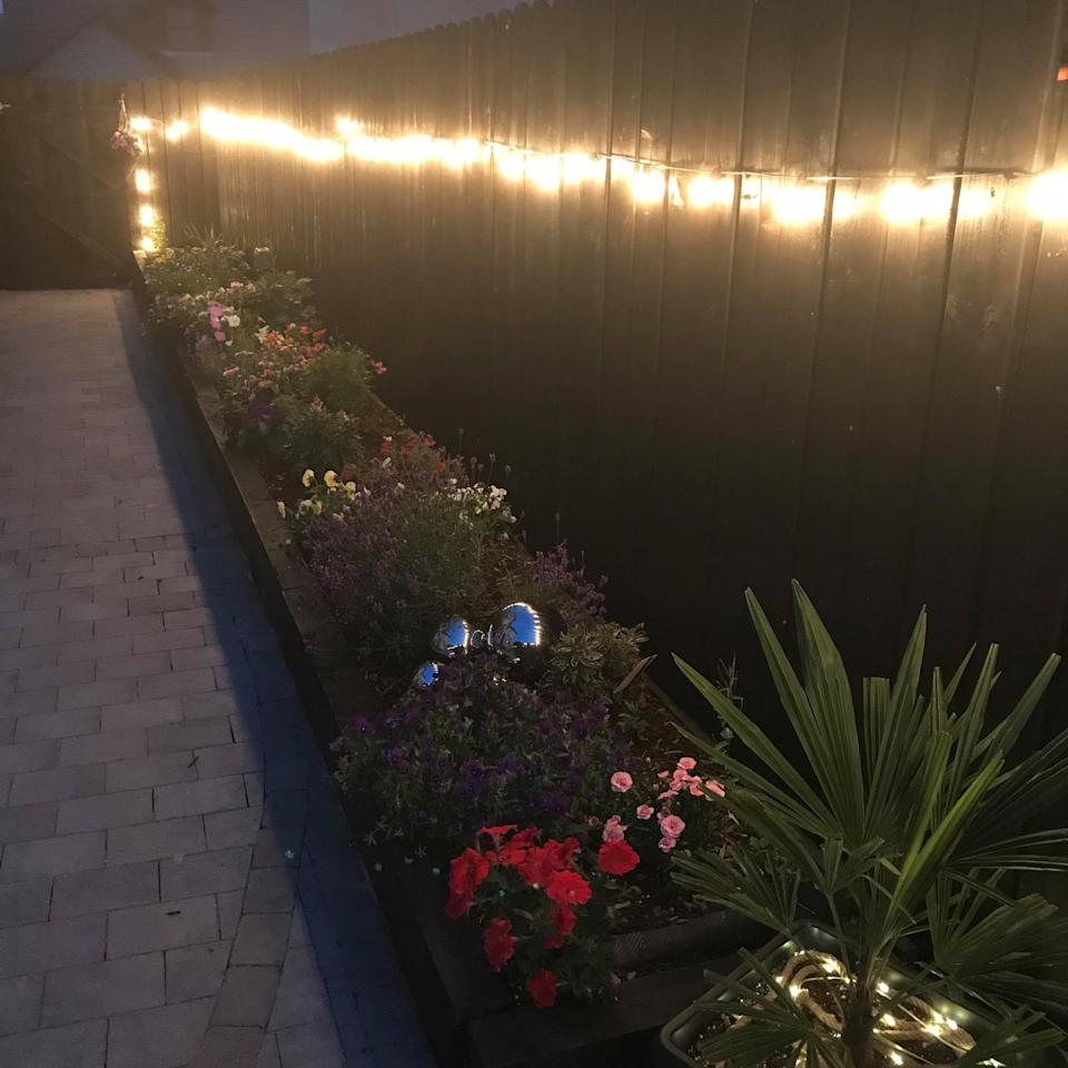 The garden is a magical space at night. (Latestdeals.co.uk)