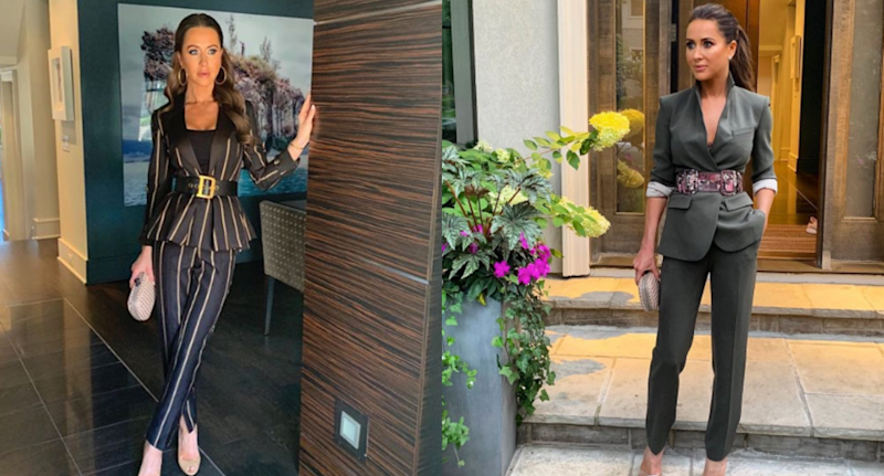 Jessica Mulroney steps out in not one, but two pantsuits for TIFF