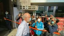 American arrested in Hong Kong on security charge escorted by police