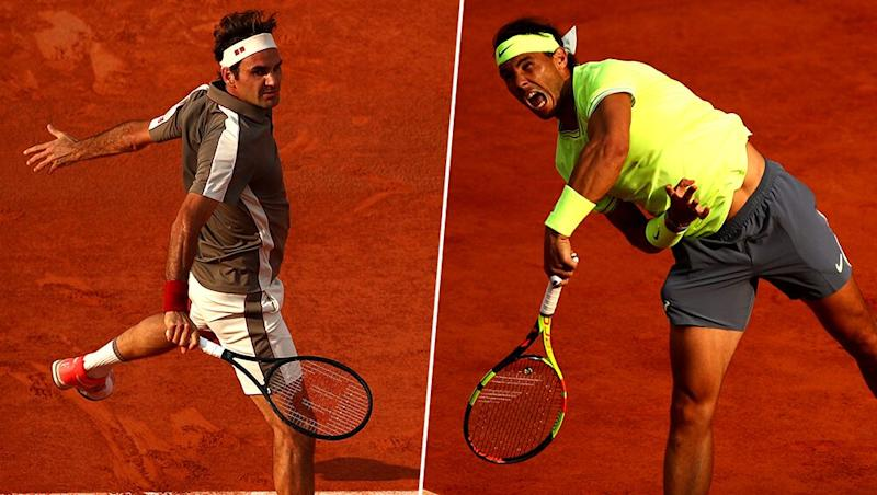 Roger Federer vs Rafael Nadal Head to Head Record: Ahead of French Open 2019 Semi-Final Clash, Here're Previous 6 Match Results Featuring Great Rivals