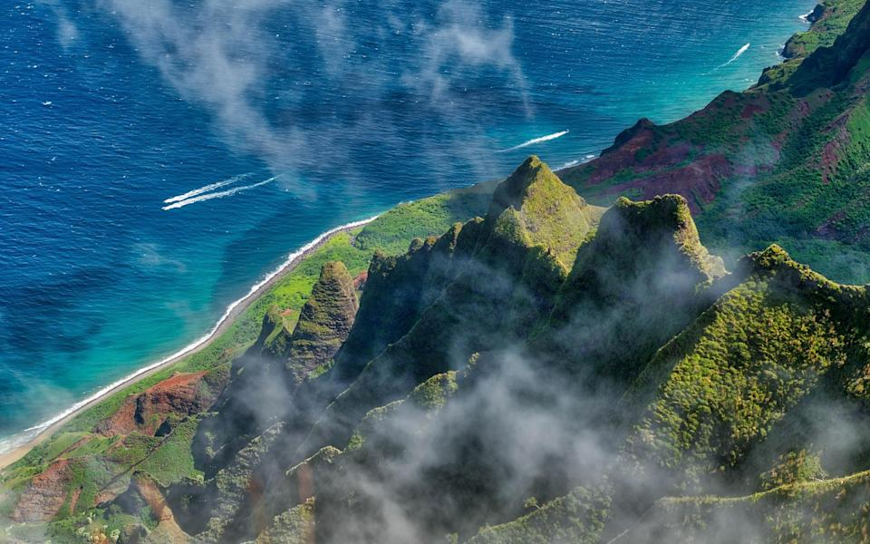 Hawaii offers golden sand beaches and lush interiors - GETTY