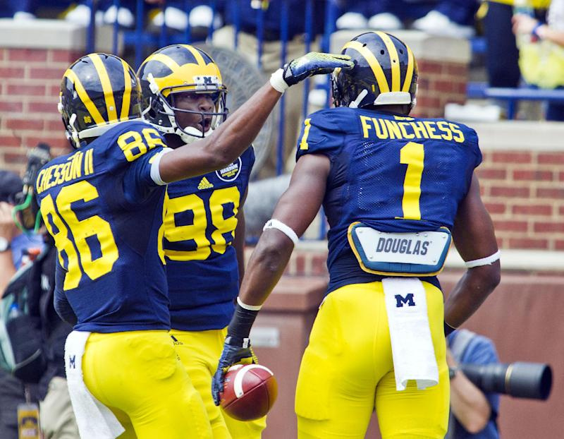 Michigan WR Funchess shouldering high expectations