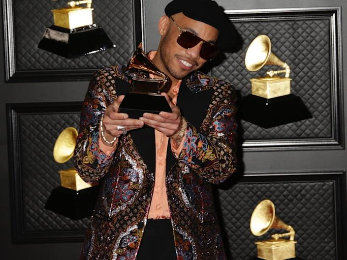 Anderson .Paak 2021 grammys