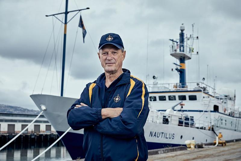 Robert Ballard is most famously known for locating the shipwreck of the Titanic in 1985.