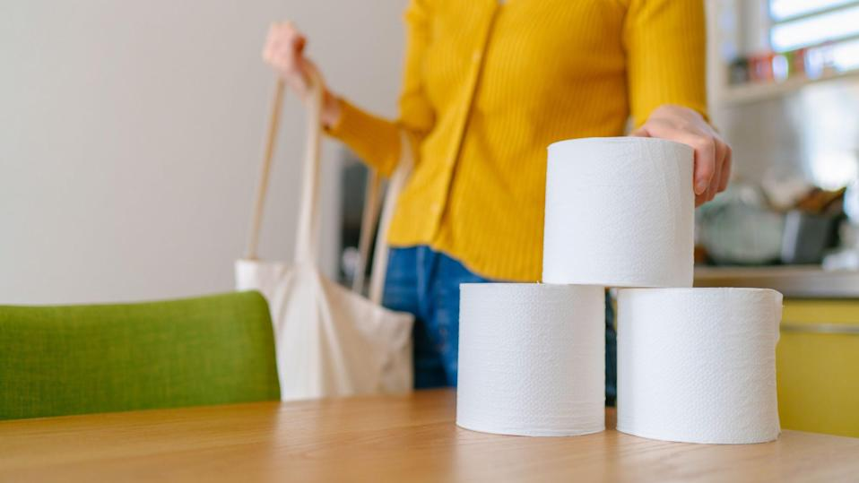 Toilet paper is back in stock—and on sale.