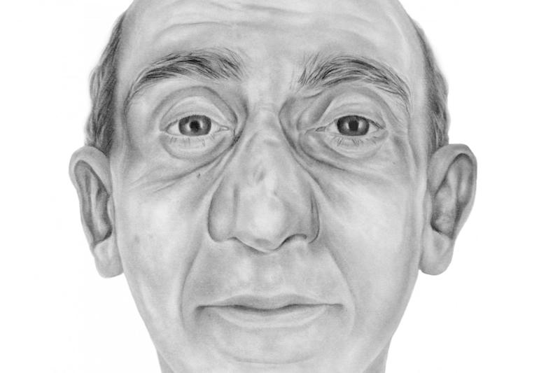 An artist's impression of David Lytton - found on Saddleworth Moor in December 2015 (Greater Manchester Police)