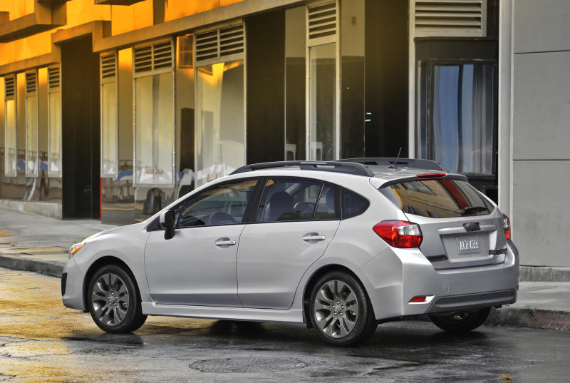 Impreza is all-wheel drive star