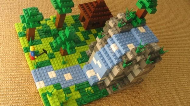 Mojang working with LEGO to officially develop Minecraft building sets