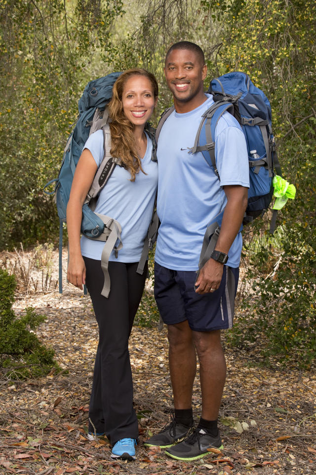 "Married Doctors Nicole and Travis Jasper compete in a sprint around the globe for $1 million dollars on the new season of ""The Amazing Race."""