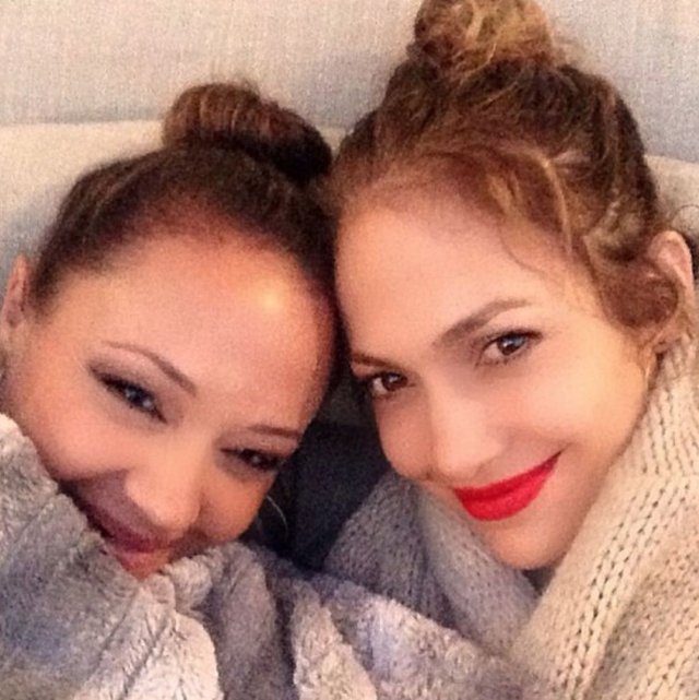 "<p>""Every Lucy needs an Ethel,"" the triple threat captioned this pic with her BFF, Leah Remini. Then she shared some big news: ""Look who is doing a movie together!"" The <em>Kevin Can Wait</em> star has joined Lopez's film <em>Second A</em>ct, and will play — yep, you guessed it — Jen's best friend. Not too tough a role, we imagine. (Photo: <a href=""https://www.instagram.com/p/BaFCBSDl5hB/?taken-by=jlo"" rel=""nofollow noopener"" target=""_blank"" data-ylk=""slk:Jennifer Lopez via Instagram"" class=""link rapid-noclick-resp"">Jennifer Lopez via Instagram</a>) </p>"