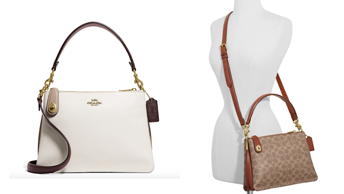 Nordstrom shoppers love this elegant Coach purse.