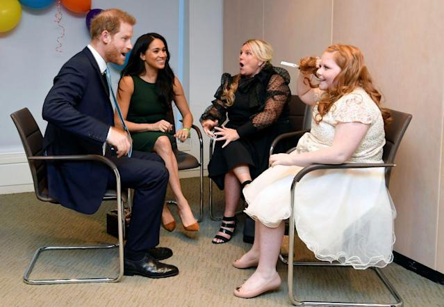 Prince Harry and Meghan Markle attend the annual WellChild Awards last year. The Duke is a patron of the charity [Photo: Getty]