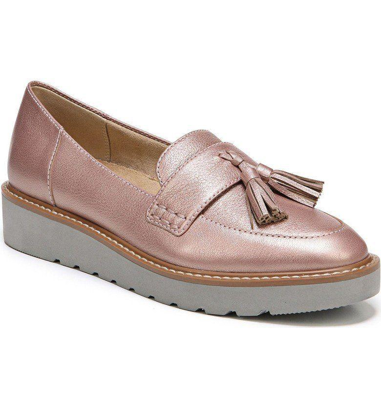 "Get it on <a href=""https://shop.nordstrom.com/s/naturalizer-august-loafer-women/4756224?origin=category-personalizedsort&fashioncolor=ROSE%20GOLD%20LEATHER&cm_mmc=Linkshare-_-partner-_-10-_-1&siteId=tv2R4u9rImY-u4M.XzYUiBf7_5h7QlmLag"" target=""_blank"">Nordstrom</a>, $110."