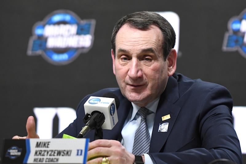 Duke's Krzyzewski backs California's 'Fair Pay to Play' law